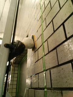 外壁剥落防止処理工事その3